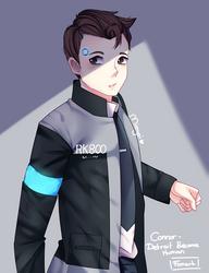 Connor (Fanart) by Mimyoi