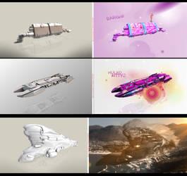 Ships Lovely Design by Swpp