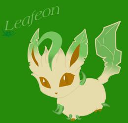 Leafeon by Yuki-Oyu