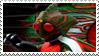 Kamen Rider Amazon stamp by Fireshire