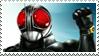 Kamen Rider Black RX stamp by Fireshire