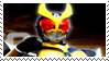 Kamen Rider Agito Stamp by Fireshire