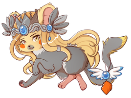 Cockatiel Mouse by Ariamouse