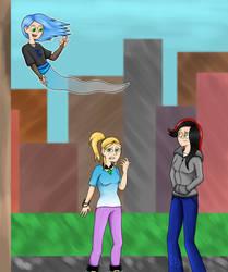 My Three OC's Redo .:Human:. by DeannaPhantom13