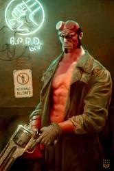 Hellboy BAR by Felideus