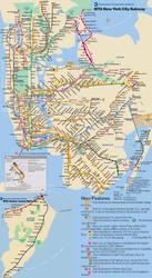 Fantasy Nyc Subway Map.Fantasy Nyc Subway Map By Sfong213768 On Deviantart