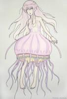 jellyfish girl by Stalaxy