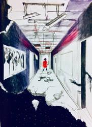 Hallway by ResidentSadist