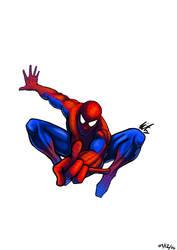 Spiderman by Visnus
