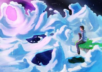 Never ending- painting by Visnus