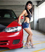 A Car and a Girl by chondrus-crispus