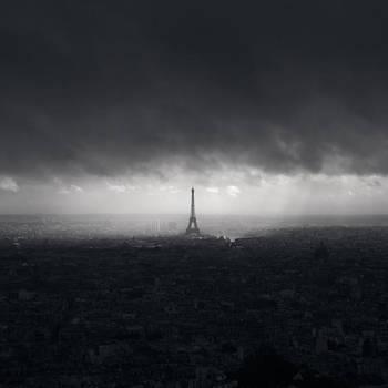 Eiffel Tower, Study 7 by kapanaga