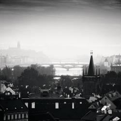Prague Overlook, Study 5 by kapanaga