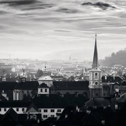 Prague Overlook, Study 6 by kapanaga