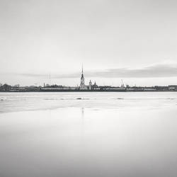 Peter and Paul Fortress, Study 6 by kapanaga
