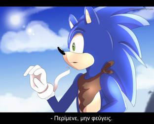 [Sonic FanArt] Wait don't go by Gina-Kyona