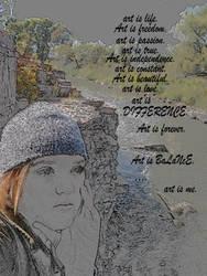 Oath of An Artist by PEACEfulButterflEYES