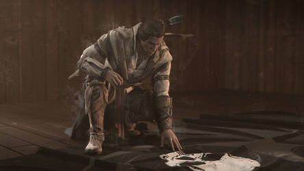 Captain Kenway's Black Flag by BB22Andy