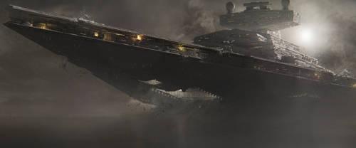 Star Destroyer - Crash on Malachor by BB22Andy