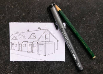 Miniature Sketch by LadyAnaire