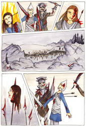 The Fall of Fingolfin -  02 by LadyAnaire