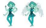 FAN-FUSION - Peridot and Lapis by Fyreglyphs