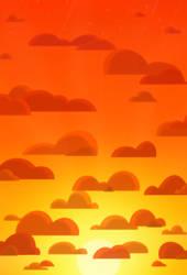 Sunset Sky by Fyreglyphs