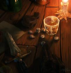 The bar break by Kantarti