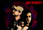 Mr Robot Poster with a Fight Club Theme by imsmart420