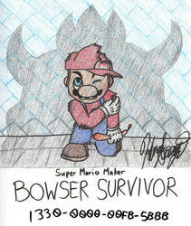 Super Mario Maker - Bowser Survivor by K-S-O
