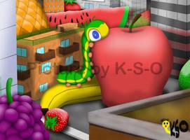 Hello Mr. Caterpillar by K-S-O