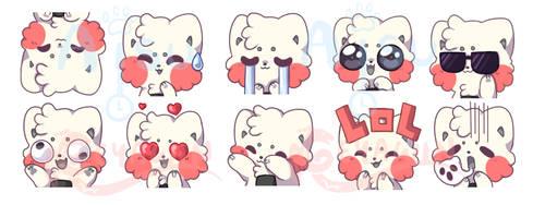 Onigiri Discord Emotes by aisutime