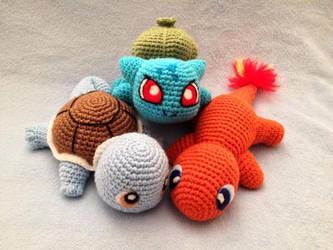 Pokemon Starters! by LucreziaNatas