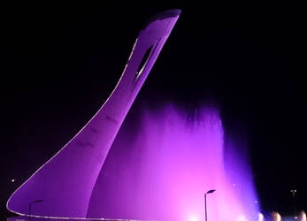 Singing Fountain (Purple) by ZzzYxxX