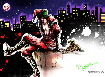 Joker X'mas by Vavanemo