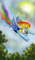 Rainbow Dash  by TanyaSitnikova