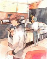 Coffee shop by gratuaidong