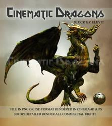 Cinematic dragon 2 by Elevit-Stock