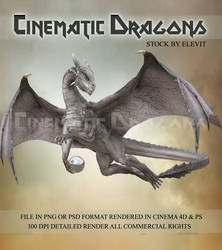 Cinematic dragon 3 by Elevit-Stock