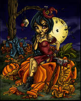 *Smashing Halloween* by RainbowFireStar