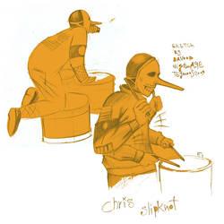chris fehn sketch by punx666