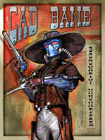 Cad Bane Bounter Hunter by SteveAndersonDesign