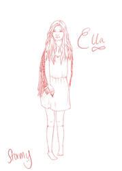WIP-Ella by stormyormsby