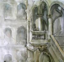 staircase by Katarzyna-Kmiecik