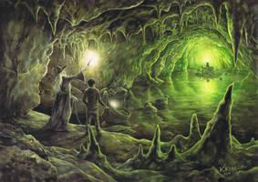 Horcrux Cave by Katarzyna-Kmiecik