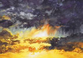 Sky No 5 by Katarzyna-Kmiecik