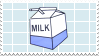 // milk stamp by anxi0usCactus