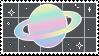 // saturn stamp by anxi0usCactus