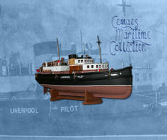Model of pilot vessel William Clarke by CemaesMaritime