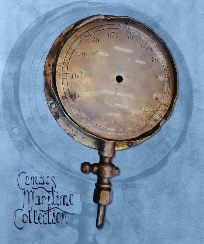 Steam Pressure Gauge by CemaesMaritime